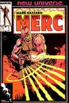 Mark Hazzard: MERC comic books