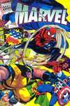 Marvel 1995 Annual Report comic books