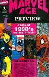 Marvel Age Preview comic books