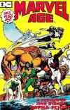 Marvel Age #2 comic books - cover scans photos Marvel Age #2 comic books - covers, picture gallery