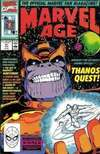 Marvel Age #91 comic books - cover scans photos Marvel Age #91 comic books - covers, picture gallery