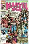 Marvel Age #93 comic books - cover scans photos Marvel Age #93 comic books - covers, picture gallery