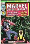 Marvel Double Feature #6 comic books - cover scans photos Marvel Double Feature #6 comic books - covers, picture gallery