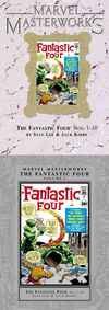 Marvel Masterworks: Fantastic Four comic books