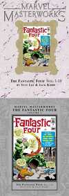 Marvel Masterworks: Fantastic Four #5 comic books - cover scans photos Marvel Masterworks: Fantastic Four #5 comic books - covers, picture gallery