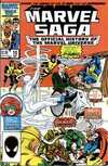 Marvel Saga #10 comic books - cover scans photos Marvel Saga #10 comic books - covers, picture gallery