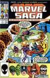 Marvel Saga #17 comic books - cover scans photos Marvel Saga #17 comic books - covers, picture gallery