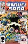 Marvel Saga #18 comic books - cover scans photos Marvel Saga #18 comic books - covers, picture gallery
