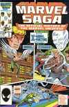 Marvel Saga #5 comic books - cover scans photos Marvel Saga #5 comic books - covers, picture gallery