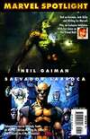 Marvel Spotlight: Neil Gaiman/Salvador Larroca #1 comic books for sale