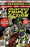 Marvel Triple Action #33 comic books - cover scans photos Marvel Triple Action #33 comic books - covers, picture gallery