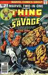 Marvel Two-In-One #21 comic books for sale