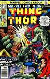 Marvel Two-In-One #23 comic books for sale