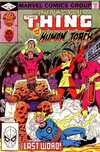 Marvel Two-In-One #89 comic books - cover scans photos Marvel Two-In-One #89 comic books - covers, picture gallery