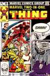 Marvel Two-In-One #96 comic books - cover scans photos Marvel Two-In-One #96 comic books - covers, picture gallery