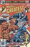 Marvel's Greatest Comics #64 comic books for sale
