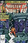 Master of Kung Fu #104 comic books - cover scans photos Master of Kung Fu #104 comic books - covers, picture gallery