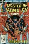 Master of Kung Fu #105 Comic Books - Covers, Scans, Photos  in Master of Kung Fu Comic Books - Covers, Scans, Gallery