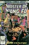 Master of Kung Fu #121 comic books - cover scans photos Master of Kung Fu #121 comic books - covers, picture gallery