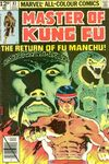 Master of Kung Fu #83 comic books for sale