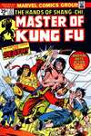 Master of Kung Fu #22 comic books - cover scans photos Master of Kung Fu #22 comic books - covers, picture gallery