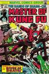 Master of Kung Fu #23 comic books - cover scans photos Master of Kung Fu #23 comic books - covers, picture gallery