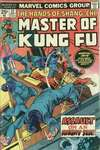 Master of Kung Fu #32 comic books - cover scans photos Master of Kung Fu #32 comic books - covers, picture gallery