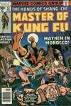 Master of Kung Fu #52 comic books - cover scans photos Master of Kung Fu #52 comic books - covers, picture gallery