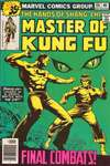 Master of Kung Fu #68 comic books - cover scans photos Master of Kung Fu #68 comic books - covers, picture gallery