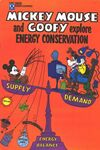 Mickey Mouse and Goofy Explore Energy Conservation #1 comic books for sale
