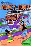 Mickey Mouse and Goofy Explore the Universe of Energy comic books