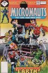 Micronauts #2 comic books - cover scans photos Micronauts #2 comic books - covers, picture gallery
