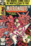 Micronauts #21 comic books - cover scans photos Micronauts #21 comic books - covers, picture gallery