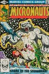 Micronauts #32 comic books for sale