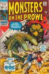 Monsters on the Prowl #10 comic books - cover scans photos Monsters on the Prowl #10 comic books - covers, picture gallery