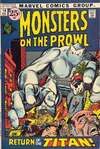 Monsters on the Prowl #14 comic books - cover scans photos Monsters on the Prowl #14 comic books - covers, picture gallery