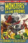 Monsters on the Prowl #17 comic books - cover scans photos Monsters on the Prowl #17 comic books - covers, picture gallery