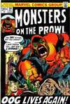Monsters on the Prowl #20 comic books for sale