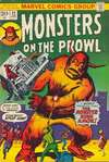 Monsters on the Prowl #22 comic books for sale