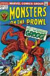Monsters on the Prowl #23 Comic Books - Covers, Scans, Photos  in Monsters on the Prowl Comic Books - Covers, Scans, Gallery