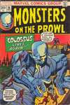 Monsters on the Prowl #25 comic books - cover scans photos Monsters on the Prowl #25 comic books - covers, picture gallery