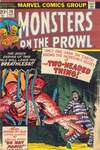 Monsters on the Prowl #26 comic books for sale