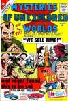 Mysteries of Unexplored Worlds #21 comic books - cover scans photos Mysteries of Unexplored Worlds #21 comic books - covers, picture gallery