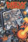 New Force #4 comic books - cover scans photos New Force #4 comic books - covers, picture gallery
