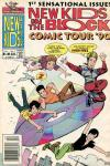 New Kids on the Block: Comic Tour comic books
