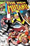 New Mutants #10 comic books - cover scans photos New Mutants #10 comic books - covers, picture gallery