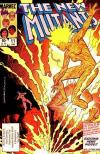 New Mutants #11 comic books - cover scans photos New Mutants #11 comic books - covers, picture gallery