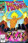 New Mutants #12 comic books - cover scans photos New Mutants #12 comic books - covers, picture gallery