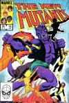 New Mutants #14 comic books - cover scans photos New Mutants #14 comic books - covers, picture gallery