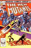 New Mutants #2 comic books - cover scans photos New Mutants #2 comic books - covers, picture gallery